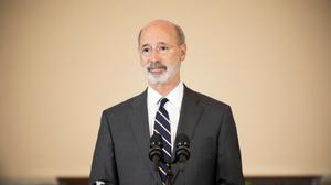 Currently, Gov. Tom Wolf is the only person who can end a disaster declaration. That would change under the proposed constitutional amendment.