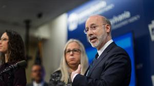 "Wolf is ""very concerned"" about the threat of an outbreak in the state's prisons, his spokesperson said."