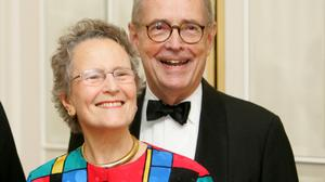 Former Gov. Dick Thornburgh and wife Ginny in 2008.