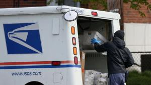"A USPS spokesperson, meanwhile, said the agency is ""unaware of any significant delays or issues."""