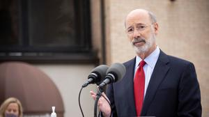Gov. Tom Wolf on Tuesday dashed any hope of a last-minute reprieve for the thousands of Pennsylvanians who have fallen behind on rent during the coronavirus pandemic.