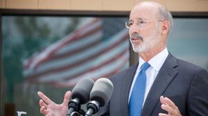 "Gov. Tom Wolf delivered a message to lawmakers Tuesday: ""We've got to get back to doing things that actually matter to people."""