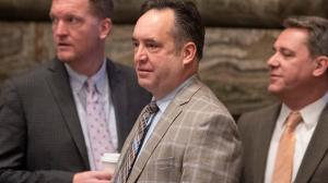 In the interview Wednesday, interim Senate President Pro Tempore Jake Corman (R., Centre) said organizers of the hearing did not adhere to social distancing and mask-wearing guidelines.