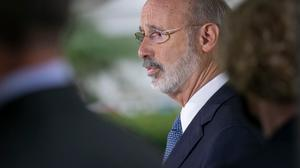 "In a statement, Gov. Tom Wolf said the proposal ""would hinder our ability to respond quickly, comprehensively, and effectively"" to another wave of COVID-19."""