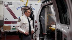 "Thomas Nolan, public safety director for Upper Merion Township, said he worries about the coronavirus ""constantly."" His department has retrofitted certain ambulances to deal with the crisis."