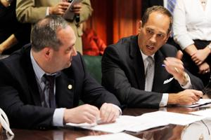 The leader of the Pennsylvania Senate, Joe Scarnati, was among three senators who went on a European trip shortly after the Legislature passed a sweeping overhaul expanding wine sales.