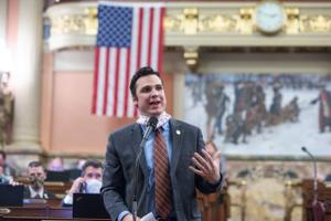 Rep. Andrew Lewis said he has not been in the Capitol building since May 14.