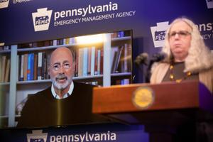 Gov. Tom Wolf had resisted a statewide order, saying he wanted to take a measured approach to limiting people's movements.