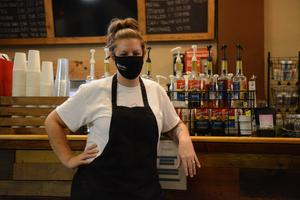 Kristy Hagan, owner of Flood City Cafe in downtown Johnstown, photographed at her restaurant on Nov. 11, 2020. She received a portion of the city's CARES Act funding to help keep her business going during the coronavirus pandemic.
