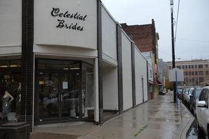 Celestial Brides on Market Street in downtown Johnstown, seen here on Nov. 11, 2020, was one business that received a portion of the city's CARES Act funding.