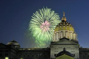 States lawmakers are considering a proposal that would allow certain municipalities to ban residents from setting off fireworks.