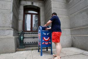 Drop boxes were used in Philadelphia during the June primary and have been embraced by other counties as a way to ease the anticipated Election Day burden.