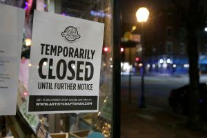 Unemployment claims in Pennsylvania topped half a million as a result of the statewide coronavirus shutdown.