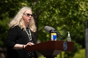 Secretary of Health Rachel Levine said transphobic remarks and actions hurt all LGBTQ Pennsylvanians.