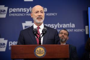 """To protect the health and safety of all Pennsylvanians, we need to take more aggressive mitigation actions,"" Wolf said in a statement Thursday."