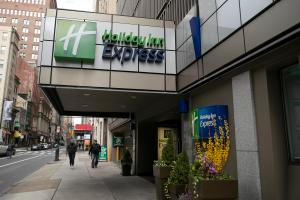 The Holiday Inn Express in Center City Philadelphia will be turned into a coronavirus quarantine site for homeless people.