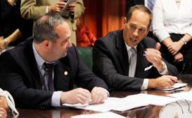 The leader of the Pennsylvania Senate, Joe Scarnati, was among three senators who went on a European trip shortly after the Legislature passed a sweeping overhaul expanding wine sales.