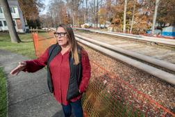 Rebecca Britton, a school board director for the Downington Area School District and founder of the Uwchlan Safety Coalition, was one of several residents who contended that Sunoco, the operator of the Mariner East pipeline system, had failed to properly inform nearby residents and emergency responders of all of the risks should an accident occur.