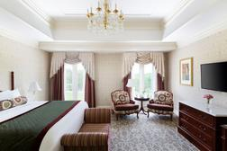A room at Chateau LaFayette at Nemacolin Woodlands Resort, where House and Senate Republicans will gather in the coming weeks for their retreats.