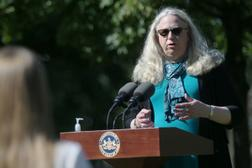 Rachel Levine, who was nominated by President Joe Biden to serve as assistant health secretary, oversaw the Pennsylvania Department of Health through the first year of the pandemic, which has killed thousands of people in long-term care facilities.