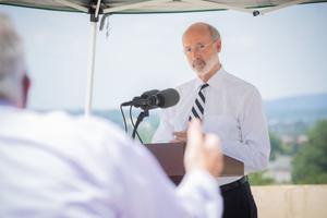 Gov. Tom Wolf said he supports transparency, but argued the bill was flawed.