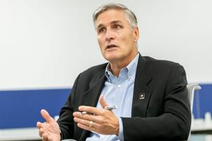 This year alone, records show Gov. Tom Wolf's campaign committee spent $300,000 of its war chest on Democrat George Scott, who is trying to wrest control of a Senate seat from Republican John DiSanto.