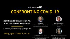 WATCH: A free virtual Q&A for Pittsburgh small business owners on navigating the coronavirus shutdown