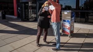 The latest challenge came as the state's top elections official, Kathy Boockvar, urged voters not to count on the extension, and instead mail in their ballots right away to get their votes counted.