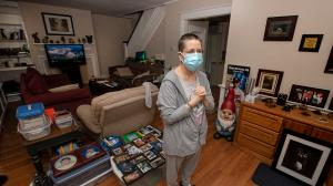 Stacey Horrocks is one of thousands of Pennsylvania tenants still waiting for rent relief.