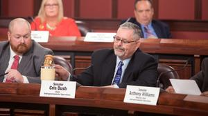 Sen. Cris Dush (R., Jefferson), who took over and renewed the election investigation in August after it was inactive for months, said any legislative fixes to the voter registration system will come after the inquiry ends.