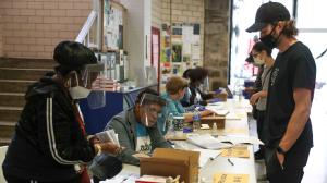This year, recruitment efforts from the state government and initiatives like Power to the Polls and the Voter Project have helped bring in an army of new volunteers to work at Pennsylvania's more than 9,000 polling places.
