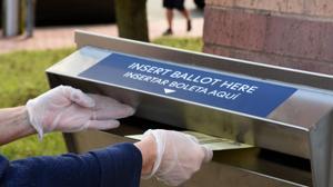 Ten states allow a family member to return a ballot for a voter, and 26 states allow a voter to designate someone to return their ballot.