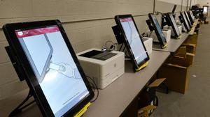 Erie County is one of 14 Pennsylvania counties that use machines from Dominion Voting Systems.