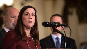 """""""If you believe as strongly as I do that abuse victims have been denied a fair remedy for far too long, then we are obligated to attempt every avenue to deliver a just result,"""" said Sen. Lisa Baker, the chair of the chamber's Judiciary Committee."""