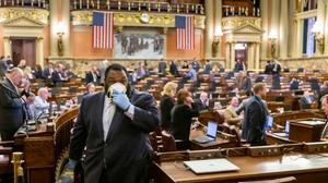House Minority Whip Jordan Harris (D., Philadelphia) also announced this week he had tested positive for COVID-19.
