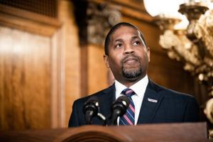 Micah Sims, executive director of Common Cause Pennsylvania, apologized Friday for failing to comply with the state lobbying law, sparking a $19,900 fine.