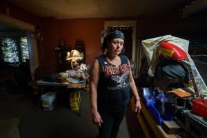 Hundreds of thousands of Pennsylvanians, including Sandra Huffman of East Greenville, Pa., have been struggling to make ends meet in January because of a month-long gap in coronavirus unemployment benefits.