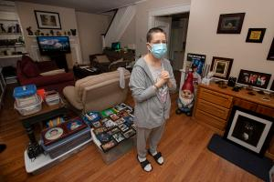 Even if Stacey Horrocks gets rental assistance money in time and pays her landlord the more than $18,000 she owes, she could still be evicted for staying past the end of her lease.