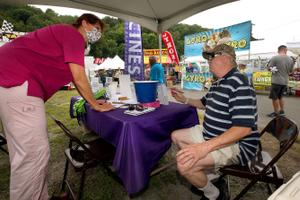 The state is launching initiatives to urge Pennsylvanians to get vaccinated, including setting up vaccine booths at county fairs.