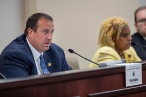 The state's next congressional map will begin its journey through the legislature in the House and Senate State Government Committees, chaired by Rep. Seth Grove (pictured) and Sen. David Argall.
