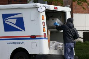 """A USPS spokesperson, meanwhile, said the agency is """"unaware of any significant delays or issues."""""""
