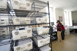 Counties couldn't begin counting mail ballots until Election Day, delaying the processing of provisional ballots.