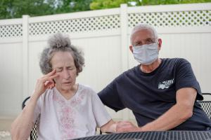 Pat Loughney (right) cared for his wife, Candy, in their home until she went into anaphylactic shock after eating medicated soap. Candy is one of 280,000 Pennsylvanians over the age of 64 living with Alzheimer's disease, the most common cause of dementia.