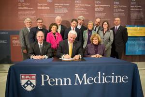 Gov. Tom Corbett in 2013 signed an executive order establishing the Pennsylvania Alzheimer's Disease State Planning Committee.