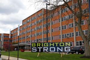 The Brighton Rehabilitation and Wellness Center in Beaver County is the site of one of the state's worst outbreaks.