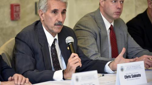 Democratic Reps. Chris Sainato (left) and Mark Longietti