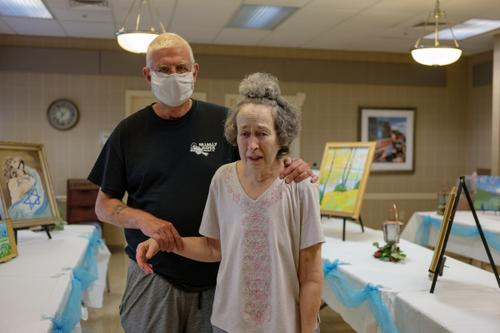 Pat Loughney (left) cared for his wife, Candy, in their home until she became ill after eating medicated soap. Candy is one of 280,000 Pennsylvanians over the age of 64 living with Alzheimer's disease, the most common cause of dementia.